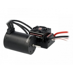 COMBO VARIADOR 120A + MOTOR 6,5T SENSOR 1/10. MONSTERTRONIC MT2313