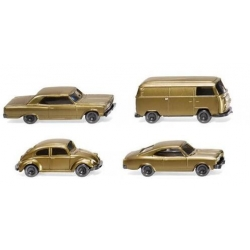 SET 4 COCHES. WIKING 091006